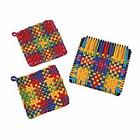 Potholder Deluxe with Cotton Loops