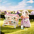 Calico Critters Double Stroller Set