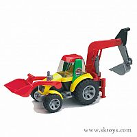 Bruder Roadmax Backhoe Loader