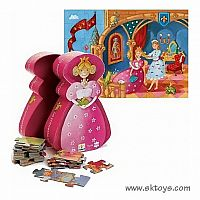 Djeco The Princess & Her Frog 36 PC Puzzle