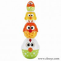 Kidoozie Chicken 'n Egg Stackers