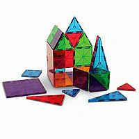 Magna-Tiles Clear Colors 32 PC Set