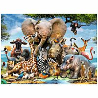 African Friends 300 PC Puzzle
