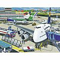 Airport 100 XXL PC Puzzle