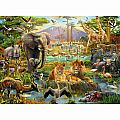Animals of the Savannah 200 pc Puzzle