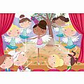 Ballet Beauties 24 Pc Floor Puzzle