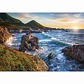 Big Sur Sunset 1000 pc Puzzle
