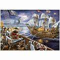 Blackbeard's Battle 200 Pc Puzzle