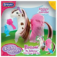 Breyer Blossom the Ballerina Color Change Bath Pony