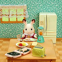 Calico Critters Breakfast Set
