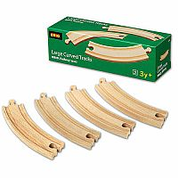 Brio Large Cuved Tracks