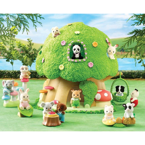 Calico Critters Baby Discovery Forest Smart Kids Toys