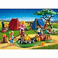 Playmobil Camp Site with Fire