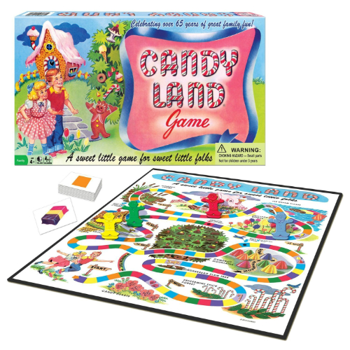 Candy Land 65th Anniversary Edition Smart Kids Toys