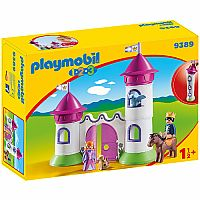 Playmobil 1.2.3 Castle with Stackable Towers