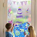 ChalkScapes Let's Celebrate! Stencils & Window Markers
