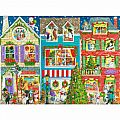 Christmas on Pet Street 1000 Pc Puzzle