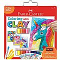Do Art Color with Clay Unicorn & Friends