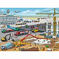 Construction at the Airport 100 Pc Puzzle