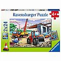 Construction and Cars 2x24 Pc Puzzle