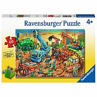 Construction Crew 60 Pc Puzzle