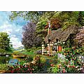 Country Cottage 1500 pc Puzzle