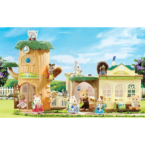 Calico Critters Country Tree School Smart Kids Toys