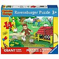Curious George Fun 24 Pc Floor Puzzle