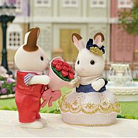 Calico Critters Cute Couple Set