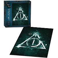 Harry Potter The Deathly Hallows 550 Pc Puzzle