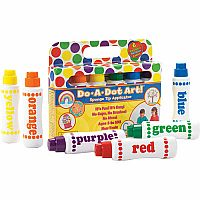 Do A Dot Markers 6-pk Rainbow