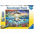 Dolphin Paradise 300 Pc Puzzle