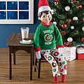 Elf on the Shelf Claus Couture: Donut Be Naughty PJs