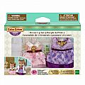 Calico Critters Purple & Pink Dress Up Set