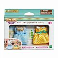 Calico Critters Dress Up Set - Light Blue & Yellow