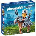 Playmobil Dwarf Fighter with Pony