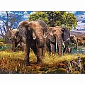 Elephants 500 pc Puzzle