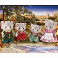 Calico Critters Ellwood Elephant Family
