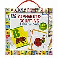 Eric Carle Alphabet & Counting 2-Sided Floor Puzzle