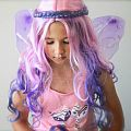 Pink Poppy Fairies & Flowers Wig