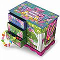 Sticky Mosaics Fairy Forest Jewelry Box