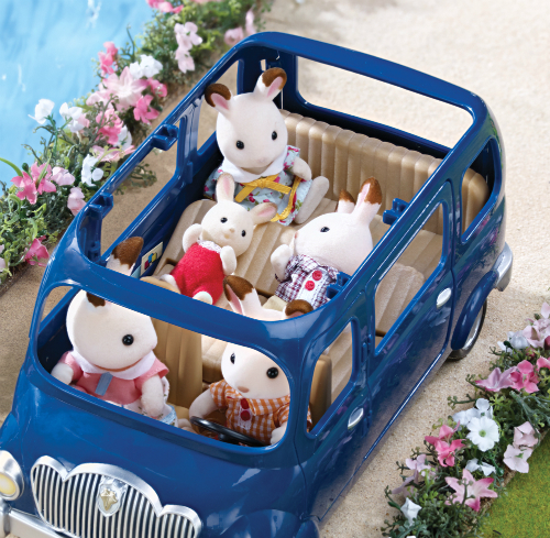 Calico Critters Family Seven Seater Car Smart Kids Toys