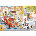 Firefighter Rescue 60 Pc Puzzle