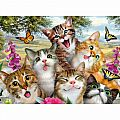 Friendly Felines 200 Pc Puzzle