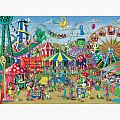 Fun at the Carnival 300 Pc Puzzle