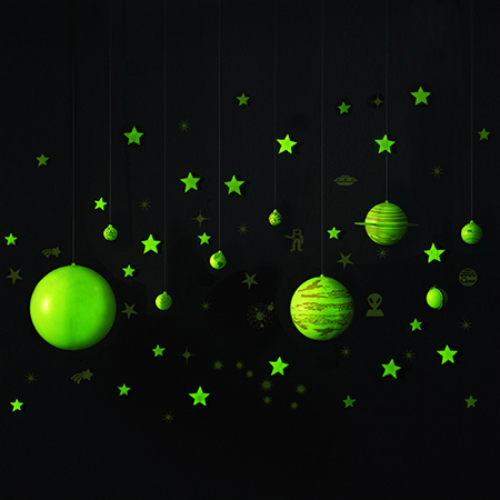 Geosafari Glow In The Dark Planets Amp Stars Smart Kids Toys