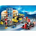 Playmobil Go-Kart Garage