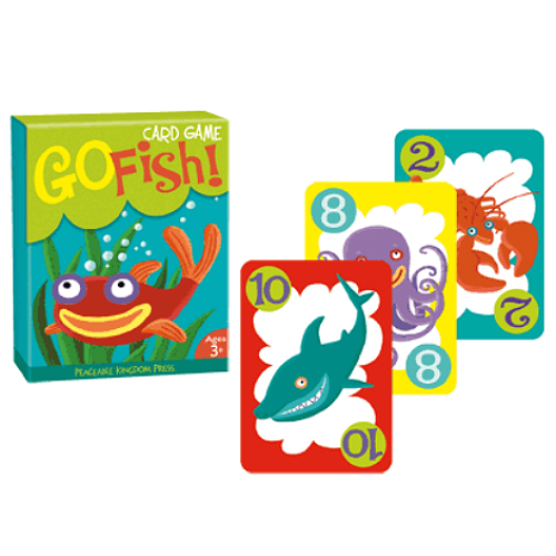 Go fish card game smart kids toys for Fish card game