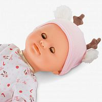 Happy Reindeer Bebe Calin Corolle Doll