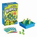 Hoppers Peg Solitaire Game